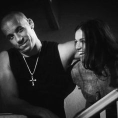 Dom & Letty- The Fast and the Furious Letty Fast And Furious, Fast And Furious Actors, The Furious, Best Tv Couples, Movie Couples, Cute Couples, Power Couples, Michael Rodriguez, Dom And Letty