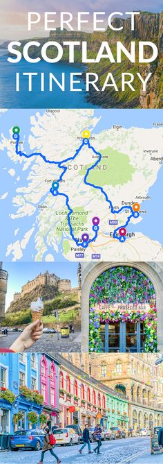 Perfect Scotland Itinerary Places to travel 2019 7 Day Scotland Itinerary. Scotland is an Incredible, Wild, Historic, Mystical Country that Just Begs to be Visited. If Scotland is Calling you, I've got the Perfect Scotland Itinerary for You. Scotland Road Trip, Scotland Vacation, Scotland Travel, Ireland Travel, Visiting Scotland, Glasgow Scotland, Highlands Scotland, Scotland Places To Visit, Scotland Country