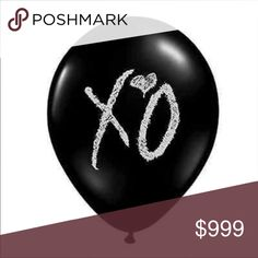 ISO Black XO balloons The Weeknd In search of!! If anyone can help, thank you! Other