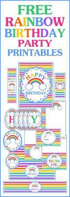 Free 40th Birthday Decoration Printables