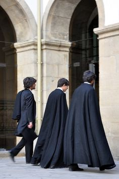 University Students of Coimbra University, in their traditional outfits, Portugal
