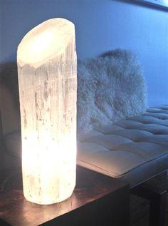 holistic home company selenite lamp