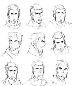 The Dragon Prince on Beard beard drawing Drawing Cartoon Faces, Guy Drawing, Drawing Poses, Male Face Drawing, Drawing Tips, Drawing Sketches, Male Character, Character Drawing, Portrait Male