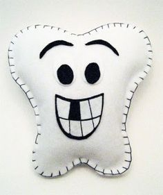Put together this super simple tooth fairy pillow for your little one. It's also an easy craft project for the kids.   All you need ar...