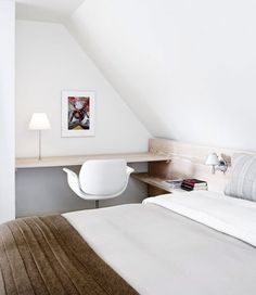 Witte serene slaapkamer van Thomas & Heidi | Interieur inrichting