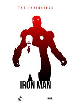 アベンジャーズ・シルエットグラフィックデザイナーLevin Collertさんの作品です。 アイアンマンかっこいい~!早く映画観にいきたいなぁ~~~。
