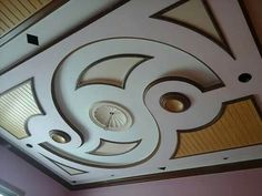 Top 40 Modern False Ceiling Design Ideas of - Engineering Discoveries Drawing Room Ceiling Design, Plaster Ceiling Design, House Ceiling Design, Ceiling Design Living Room, Bedroom False Ceiling Design, Ceiling Light Design, Tv Wall Design, Best False Ceiling Designs, Beautiful Ceiling Designs
