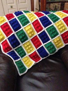 Crochet Lego ~ 10 FREE PatternsLego MinifigureBuilding Block iPhone CaseLego Brick Crochet Scarf