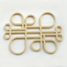 Image of SOUS-PLAT «INSIDE OUT_F» / «INSIDE OUT_F» TRIVET