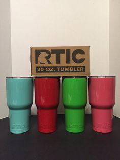 Colored RTIC 30 oz. Tumbler