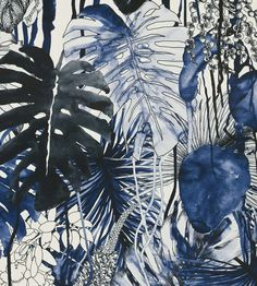Jardin Exo'chic Fabric by Christian Lacroix | Jane Clayton