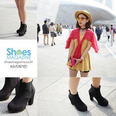 김하늘 26 서비스직  보세  2015 F/W 서울 패션위크를 찾아가다.   Seoul fashion week 2015 F/W  shoesmagazine.co.kr #shoes #shoesmagazine #fashion #seoul #korea