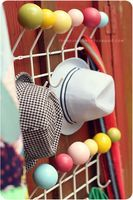 Mid Century Modern DIY: Make Your Own Eames Inspired Colorful Ball Hang-It-All / Coat Rack