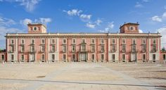 Places Worth Visiting, Portugal, Skyline, Madrid, Louvre, Building, Travel, Pink, Temples