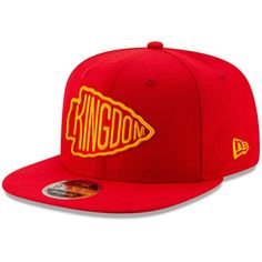 separation shoes 243aa 4f887 Men s Kansas City Chiefs New Era Red Kingdom 9FIFTY Adjustable Snapback Hat,  Your Price