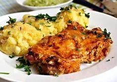 Farářská krkovička No Salt Recipes, Pork Recipes, Snack Recipes, Cooking Recipes, Slovak Recipes, Czech Recipes, Ethnic Recipes, Modern Food, Food 52
