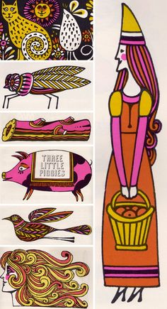 The Fireside Book of Children's Songs illustrated by John Alcorn