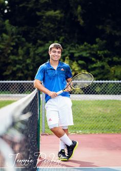Tennis Senior Pictures Jennie Peakin Photography - Quad City Photographer