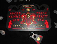 occulte goth, Oui-ja-Porte Noir mat 75 x 45 cm