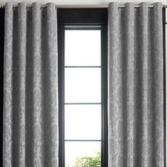 Looking at curtains for our bedroom... Eclipse™ Daria Grommet-Top Blackout Curtain Panel - jcpenney