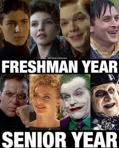 Omg Jerome has the exact face as the joker...