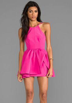 CAMEO Winter Wind Dress in Raspberry - Dresses