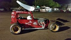 1967 Vintage (#45) Supermodifieds (California Hard Top)