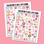 Entertain the kids this Valentine's Day with this sweet Valentine's Day I Spy Printable. It comes with an answer sheet and answer key too!
