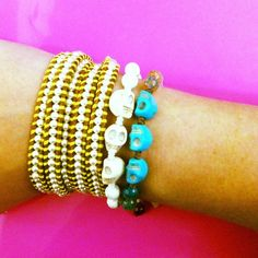 You are a girl ? Or you still look young and beautiful? Then ,wearing a Chan Luu wrap bracelet would be a strong evidence!
