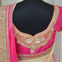 Maggam Embroidery, Maggam Work Designs on Blouses & Sarees | Sarees Villa