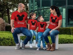 You can buy theRed Family Matching Shirts here