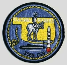 USS Will Rogers (SSBN-659) Official Patch