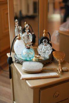 vintage perfume bottles :)
