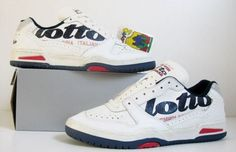 Lotto - 10 Sneaker Brands We Hope Make a Comeback in 2013 Vintage Sneakers, Classic Sneakers, Vintage Shoes, Vintage Outfits, Tennis Sneakers, Basketball Sneakers, Sneakers Nike, Grunge Goth, Winona Ryder