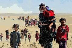 Kurdish Refugees Fine Art Prints, Framed Prints, Canvas Prints, Venus, Fine Art America, Design Art, Sketches, Tapestry, Feelings