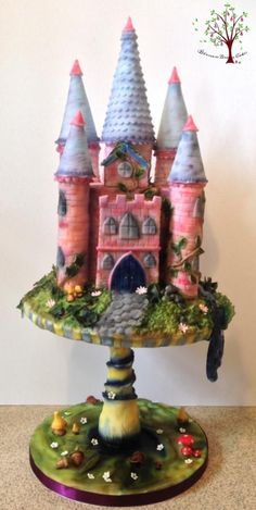 Magic castle - Cake by Blossom Dream Cakes - Angela Morris