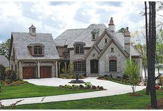 Lynbrook House Plan - French Country Home now that's beautiful!