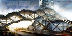 Sports Tower- eVolo   Architecture Magazine
