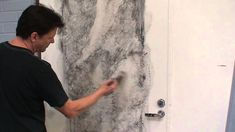White marble imitation painting (part 1)