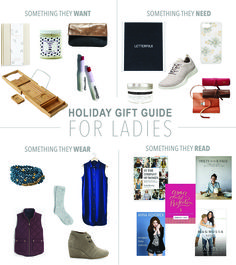 Gift Guide for Ladies