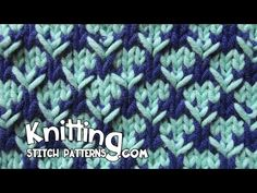 Watch video to learn how to knit the Thorn stitch. ++ Techniques used in this pattern: Knit: K , Purl: P , Yarn over: Yo , Slip stitch purlwise: SL Knit 2 sts together: , Slip slip knit: Ssk. Knitting Stiches, Loom Knitting Patterns, Knitting Videos, Knitting Charts, Arm Knitting, Knitting Designs, Crochet Stitches, Knitting Needles, Stitch Patterns