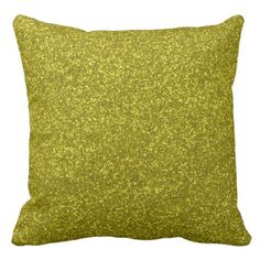 #girly - #Gold Faux Glitter Girly Pillow