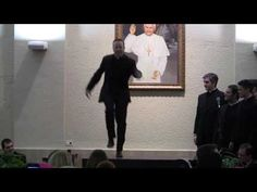 A MUST SEE TAP DANCE DUEL BY US SEMINARIANS!! - YouTube