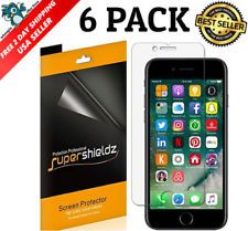 6-Pack Apple iPhone 7 Plus Screen Protector, Anti-Bubble HD Clear Shield USA New