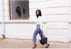 Extra ordinary ways of styling denim According to Lerato Kgamanyane