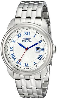 Invicta Men's 15356 Specialty Analog Display Japanese Quartz Silver Watch ** Continue to the product at the image link.