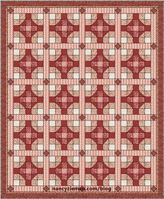 Introducing February's Block: Meet at Home Meet at Home is February's Fat Quarter Mystery Quilt Block. Like all blocks in this year's block of the month challenge, the block is 15...