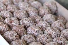 Cacao-Nut Energy Balls