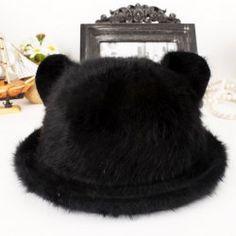 Orecchiette coniglio cappello di pelliccia