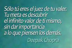Deepak Chopra...